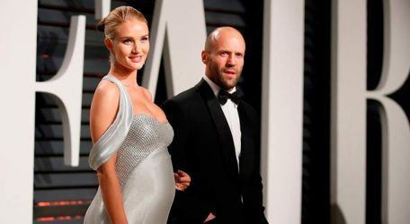 Nació el hijo de Rosie Huntington-Whiteley y Jason Statham